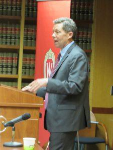 Judge Sutton At Podium