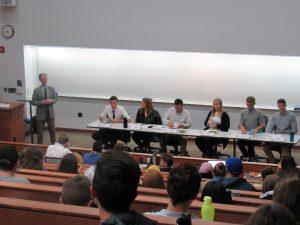 Student debaters