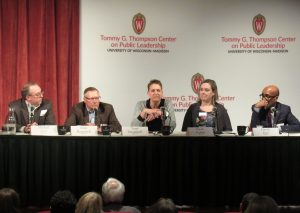View of all five panel 3 panelists