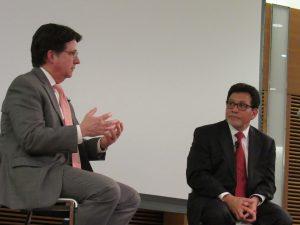 Dean Strang and Alberto Gonzales, Strang speaking
