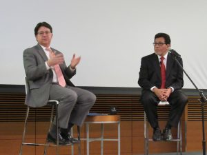 Dean Strang and Alberto Gonzales, Strang gesturing