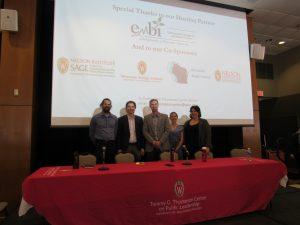 panelists - student presenters