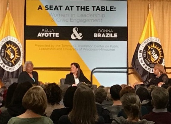 Donna Brazile and Kelly Ayotte Event