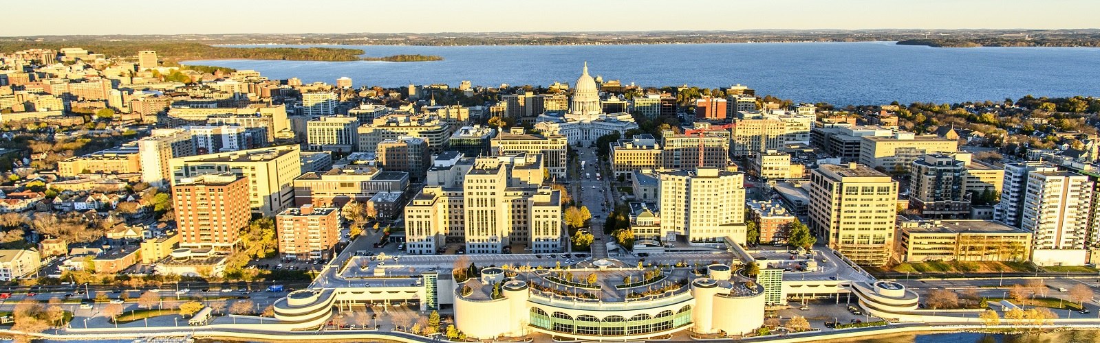 Aerial image of Madison