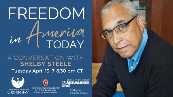 Shelby Steele Photo and Event Description