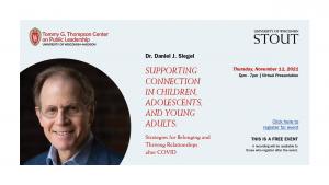 Daniel Siegel Headshot & Event Details