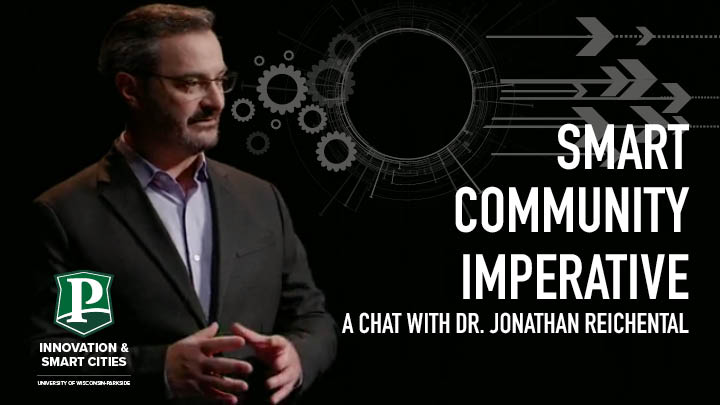 Reichental image and Smart Community Imperative event title