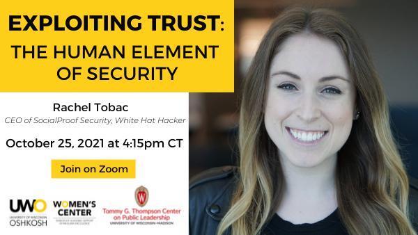 Tobac headshot + event details